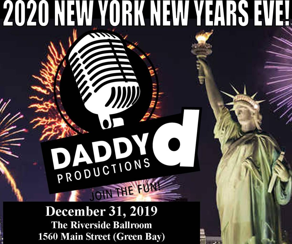 Daddy D New York New Year's Eve!